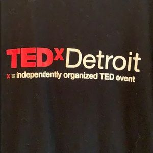 TEDx Detroit Short Sleeve T-Shirt Size Small